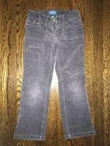 ! childrens place gray boot cut stretch corduroy pants jeans bottoms sz ... - $5.94