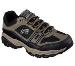 50124 Pebble EWW Wide Width Skechers shoes Men Memory Foam Sporty Casual... - £31.59 GBP