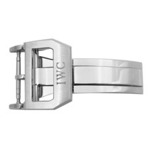 IWC Stainless Steel 18mm Deployant Buckle for leather band - $299.00