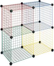 Whitmor Kids Storage Cubes Set of 4 Multicolor - $32.99