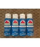 NEW Lot Matte Acrylic Craft Paint Bright Blue 2 fl. oz. each (8 oz. total) - $17.63