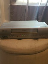 Emerson EWV404 VCR 19 Micron DA-4 Head VHS Player Recorder No Remote Tested - $42.74