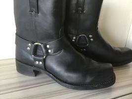 Frye Harness 87400 Men's Black Motorcycle Boots Size US 13 M A41 - $3.273,61 MXN