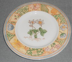 1996 Set (6) Wedgwood Home GARDEN MAZE PATTERN Salad Plates MADE IN ENGLAND - $55.43