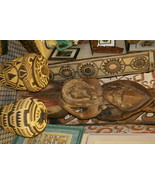 Museum Art Aibom Meri Japandai Oracle Spirit Statue Papua Guinea 60lbs 4... - $4,702.50