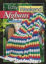 """Hard Covered Book """"Easy Weekend Afghans"""" - House of White Birches - Gently Used - $18.00"""