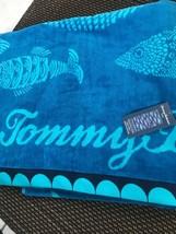 Tommy Bahama Aqua Ocean Fish Beach Pool Towel ~New~ - $35.00