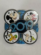 2019 Fab Four DLP Disneyland Paris Spinner Disney Pin - $12.86