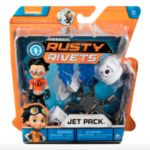 "Spin Master Nickelodeon Rusty Rivets Action Figure Toy Set ""Jet Pack"" - $9.80"