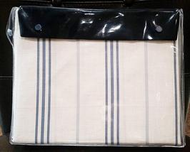 Ralph Lauren Blue Label Isla Menorca Stripe 2 Pc King Sheet Set 100%COTTON New - $249.90