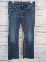Silver Jeans Womens Size 27/30 (28 x 29 Actual) Suki Surplus Bootcut Med... - $12.99