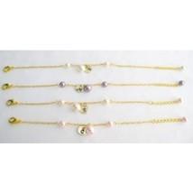 Initial Charm Bracelet Personalized Bridesmaid Bracelet Monogramme Bracelet  - $13.60