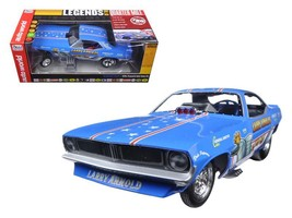 Larry Arnold's Plymouth Cuda Funny Car Limited Edition to 750pcs 1:18 Mo... - $124.46