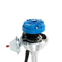 Pro Series R2R Distributor for Ford SB Windsor 289/302W, V8 Engine Blue Cap image 4