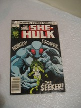 THE SAVAGE SHE-HULK #21 fine plus condition, marvel comic 1981 - $2.99