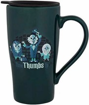 Disney Parks Coffee Travel Tumbler - Haunted Mansion Ghosts - Three Thumbs Up - $29.45