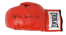 Michael (Mike) Spinks Signed Everlast Red Boxing Glove w/Jinx - Schwartz - $98.01