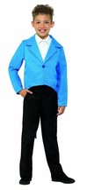 Blue Tailcoat, Dance/Ringmaster/Showman, Fancy Dress, Large Age 10-12 #CA - $18.00