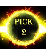 FRI-SUN PICK 2  FOR $127 DOES NOT INCLUDE NO DEALS & MYSTICAL TREASURES - $0.00
