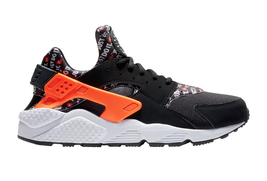 MEN'S NIKE AIR HUARACHE RUN AT5017-001 BLACK/TOTAL ORANGE-WHITE DS BRAND... - $99.95