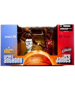 CARMELO ANTHONY/LEBRON JAMES ROOKIE TWO PACK MCFARLANE - $148.49