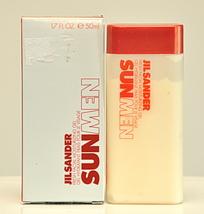 Jil Sander Sun Men Fresh Facial Moisturizing Gel 50ml 1.7 Fl Oz Rare Vintag 2002 - $89.00