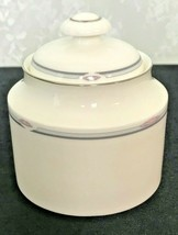 """Royal Doulton Simplicity Sugar Bowl with Lid 3 3/8"""" in Diameter 4"""" Tall - $20.66"""