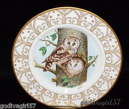 Edward Marshall Boehm * BOREAL OWL PLATE * Owls Of North America, Mint C... - $14.97
