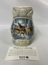 """MATCO TOOLS """"CALL OF THE WILD"""" THIRD IN A SERIES BEER STEIN WITH COA - $27.76"""