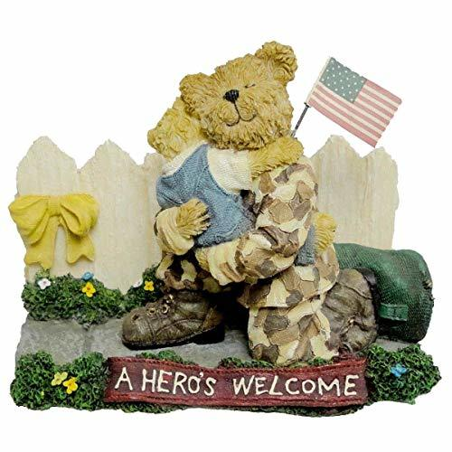 Boyds Military Bear Greg with Mattie A Hero's Homecoming 228482 - $36.99