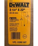 "DeWalt DW5937 3 1/4"" x 22"" Spline Shank Carbide Core Hammer Drill Bit Ge... - $99.00"