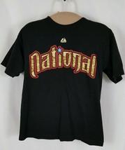 Majestic 2011 All Star Game T-Shirt Ryan Braun #8 Youth L Milwaukee Brew... - $13.05