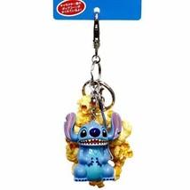 Stitch Popcorn Bucket Keychain Lilo & Stitch Tokyo Disney Resort Limited... - $42.06