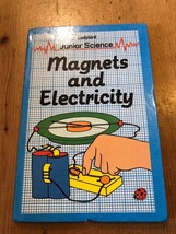 """1984-85 """"JUNIOR SCIENCE: MAGNETS AND ELECTRICITY"""" LADYBIRD BOOK (70p NET) - $2.61"""