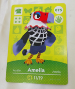 075 - Amelia - Series 1 Animal Crossing Villager Amiibo Card - $19.99