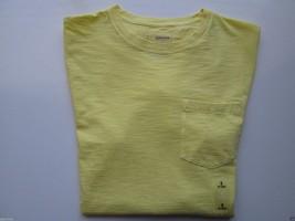 Sonoma Goods For Life Slub Textures Short Sleeve Men TShirt 710 Lemon Dr... - $10.71