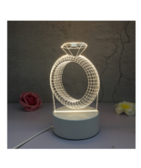3D LED Lamp Creative Night Lights Novelty Night Lamp Table Lamp For Home 8 - $12.50