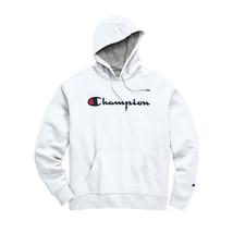 Champion Men's Powerblend Pullover Hoodie, XL, White - $29.70