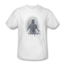 The Thing T-shirt retro classic horror sci-fi movie cotton graphic tee UNI156 image 2