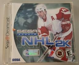 N) NHL 2K (Sega Dreamcast, 2000) Video Game - $5.60 CAD