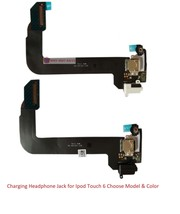 Charging Dock Headphone Jack Port Replacement Flex Part for Ipod Touch 6... - $17.99