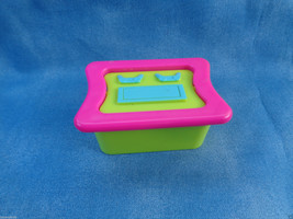Mattel Polly Pocket Dollhouse Replacement Computer Desk Furniture Access... - $1.86
