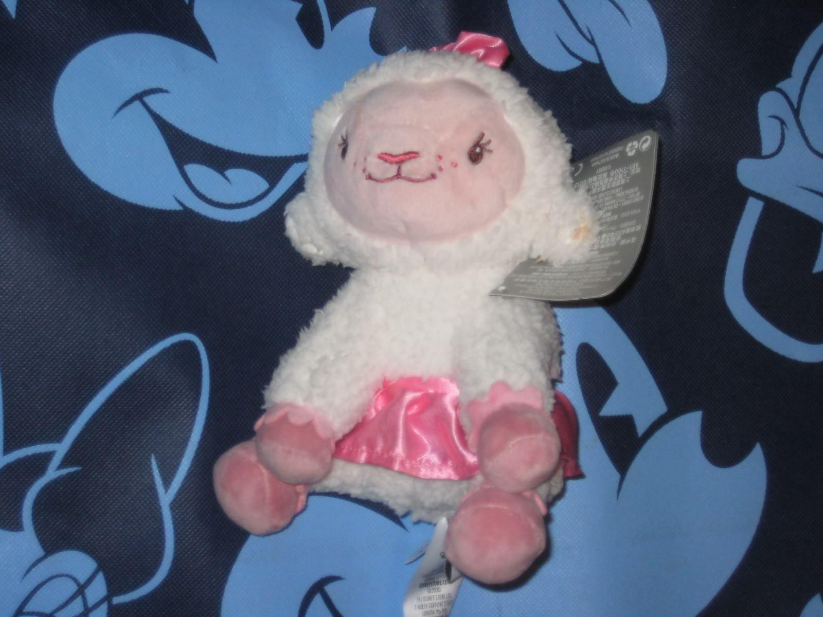 LAMBIE Disney Store. Doc McStuffins Soft Figure Plush Doll. New.