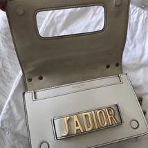 100% Authentic NEW Christian Dior J'ADIOR Calfskin Flap Bag White  image 7