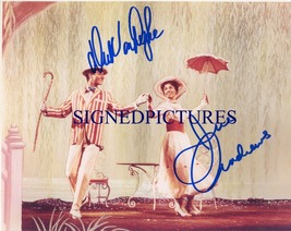 MARY POPPINS CAST SIGNED AUTOGRAPH 8x10 RP PHOTO JULIE ANDREWS AND DICK ... - $18.99