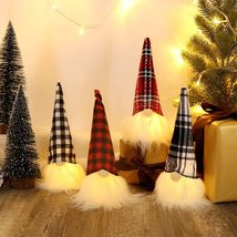 HAUMENLY Swedish Christmas Gnome Lights, Scandinavian Tomte Home Party D... - $35.99