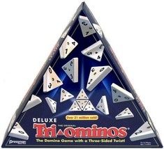 Deluxe Triominos, 56 Triangular Tiles, Easy to Learn Game, Family Child ... - $69.56