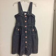 Gymboree Denim Dress Sz 5 Gently Used - $7.00