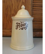Pfaltzgraff Pottery Flour Canister Village Pattern Replacement Piece - $9.89
