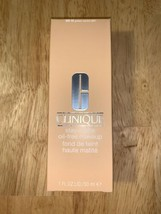 CLINIQUE STAY MATTE OIL FREE MAKEUP Foundation WN 46 Golden Neutral BNIB - $18.80
